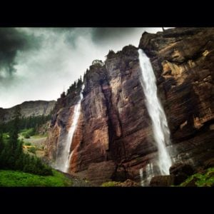 bridal veil falls, Telluride, co